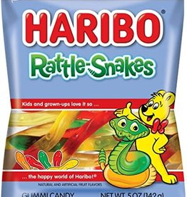 Haribo Haribo Peg Bag Rattle-Snakes 5 Oz