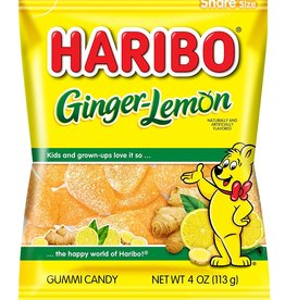 Haribo Peg Bag Ginger Lemon