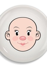 Fred & Friends Dinner Plate - Ms. Food Face