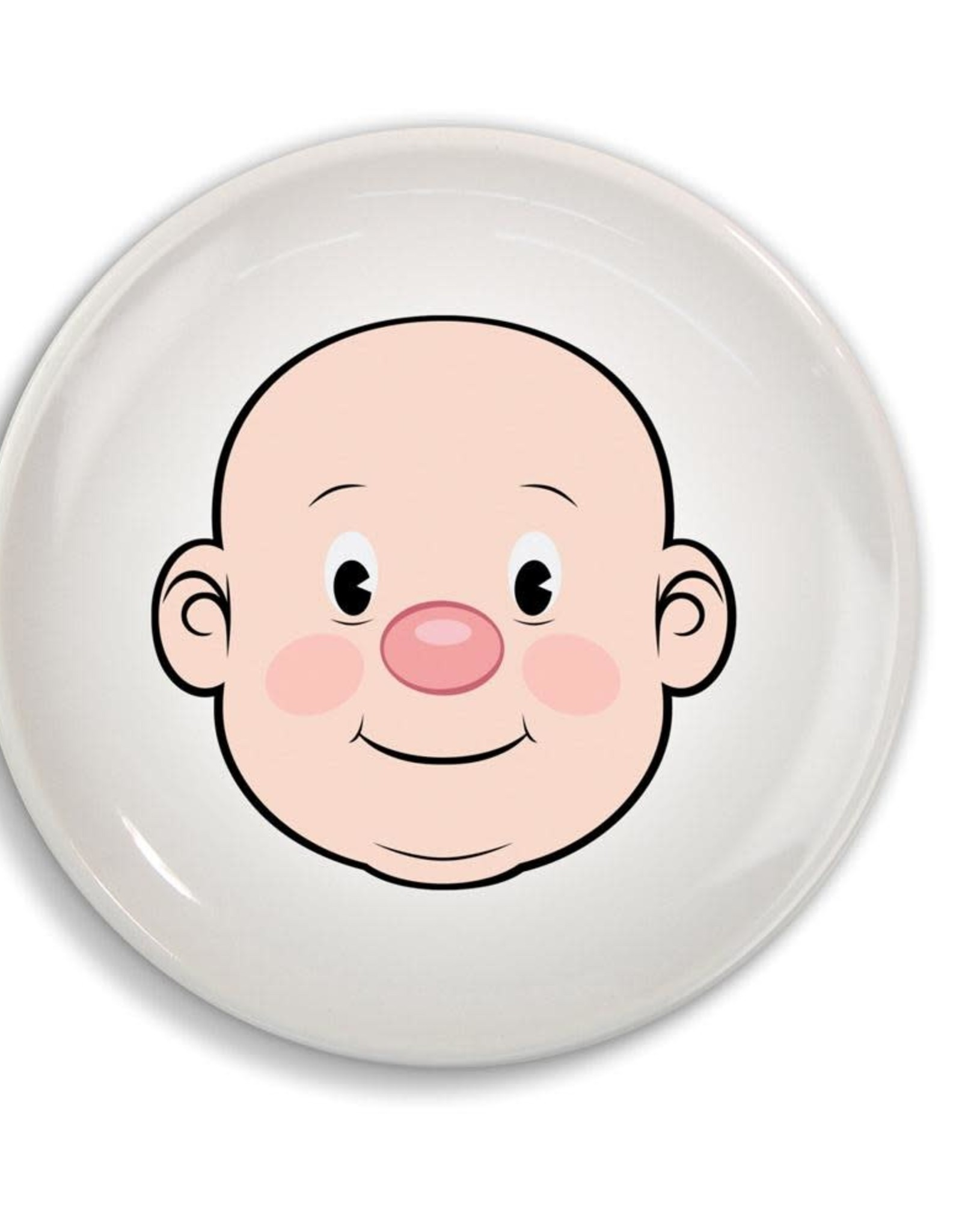 Fred & Friends Dinner Plate - Food Face