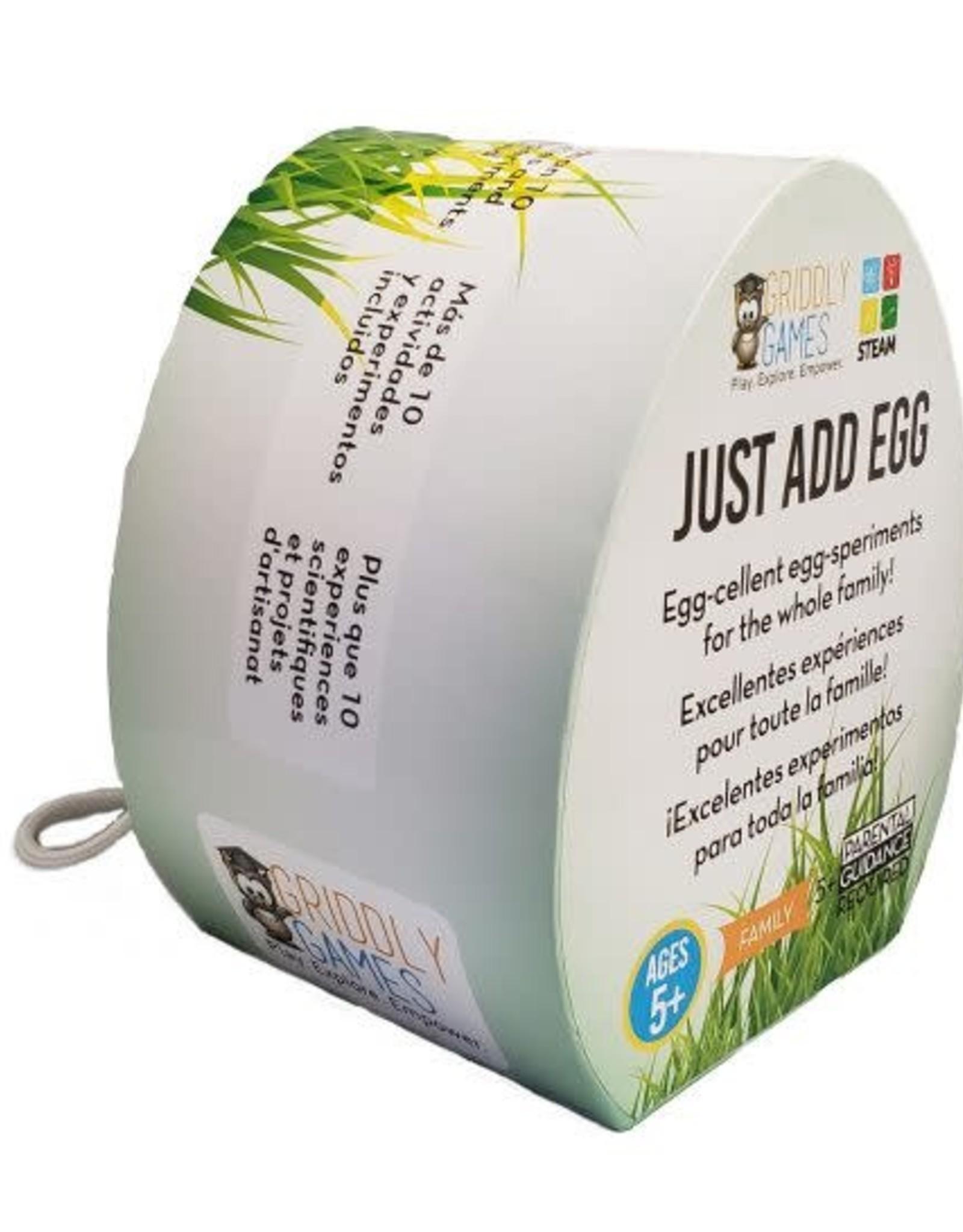 Griddly Games Just Add Egg