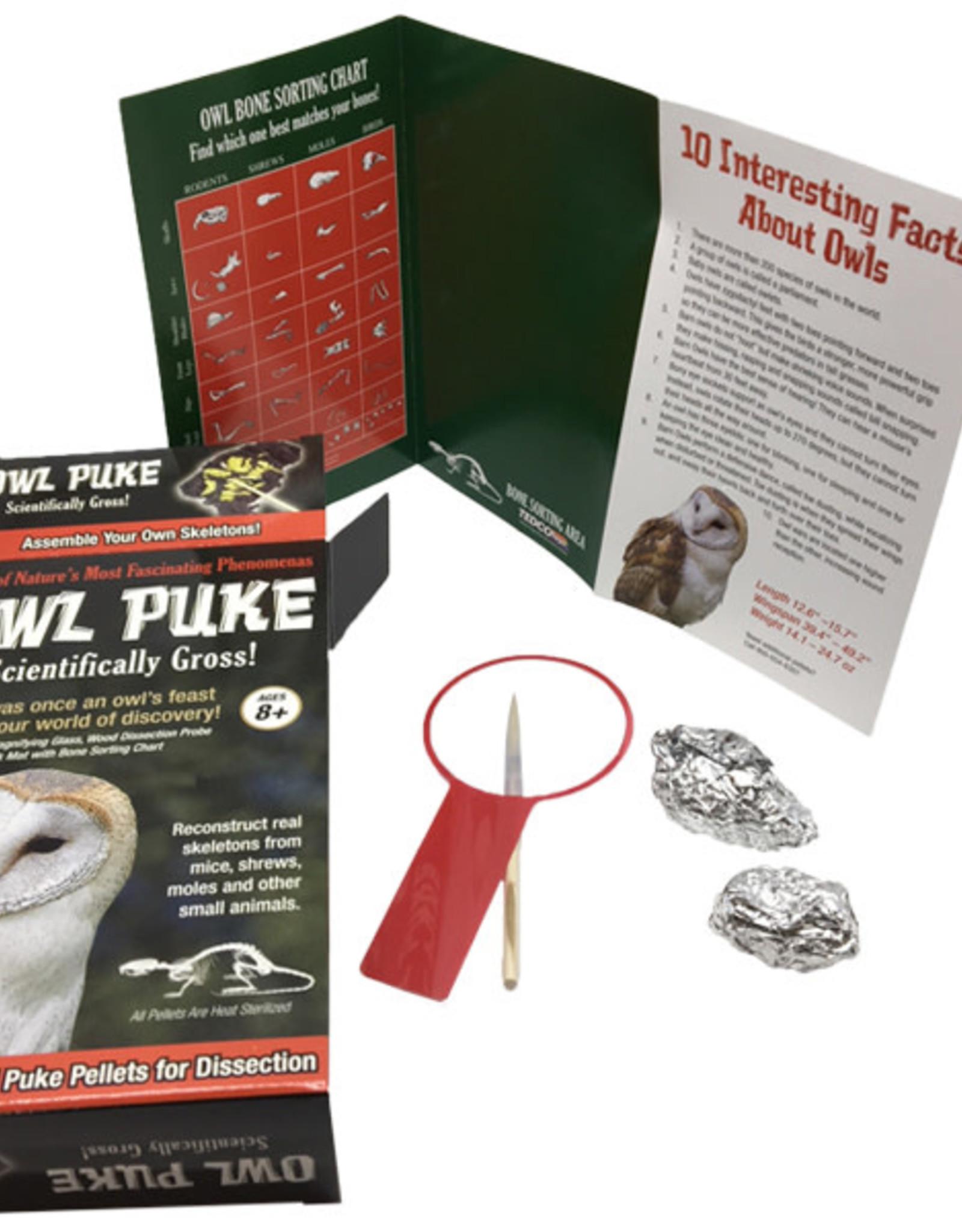 TEDCO Owl Puke