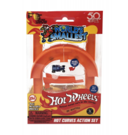 World's Smallest World's Smallest Hot Wheels Hot Curves Action Set