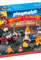 Playmobil Advent Calendar ''Fire on the Construction Site'' *