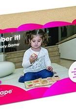 Edushape Remember It! Textured Memory Game