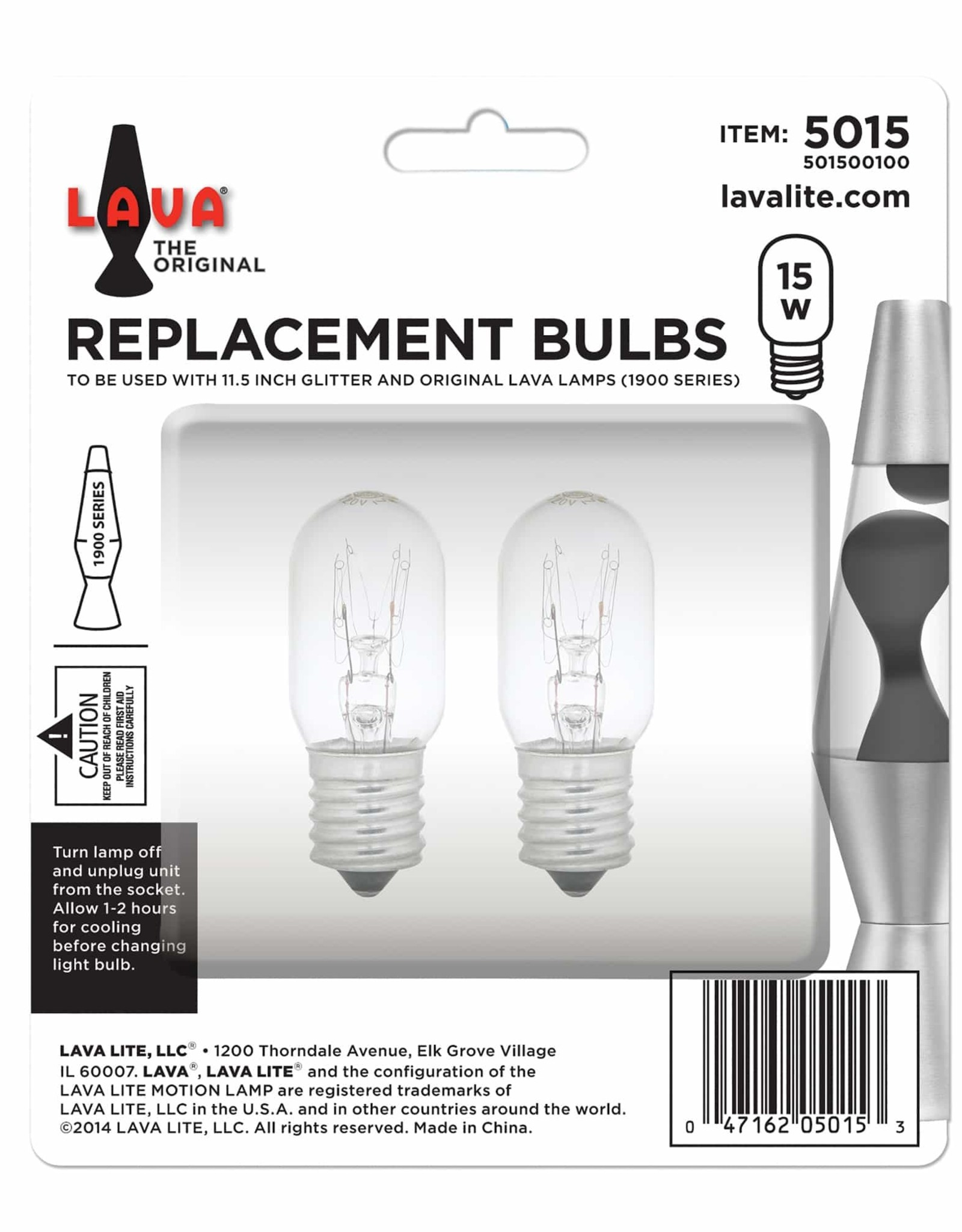 Lava Lamp Lava Lamp 15W LIGHT BULB 2PK