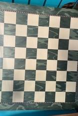"""Chess Board - 19"""" Green & Beige"""