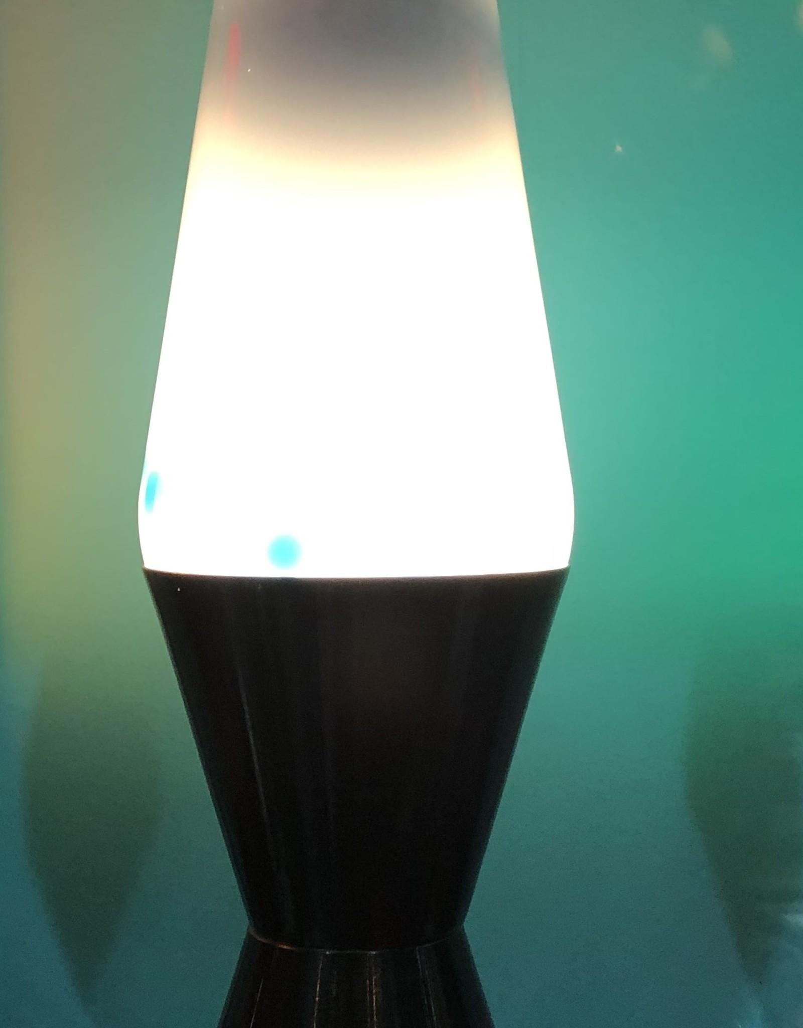 """Lava Lamp LTP FINAL SALE Lava Lamp 14.5"""" NEON BLUE/CL/BL"""