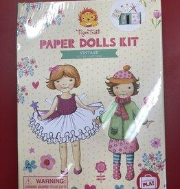 Tiger Tribe LTP Vintage Paper Dolls