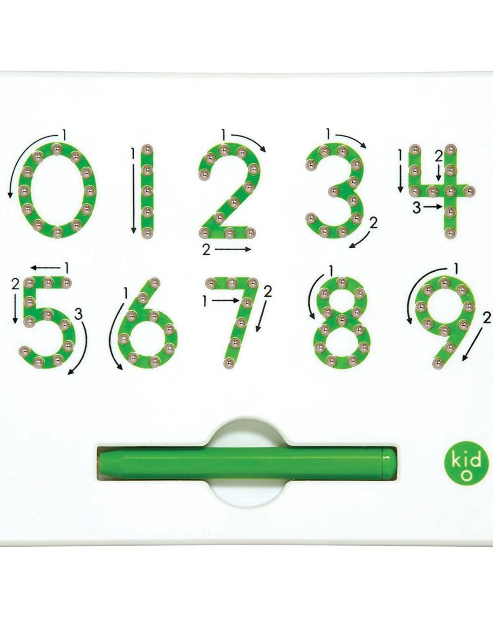 Kid O 0-9 Numbers Magnatab