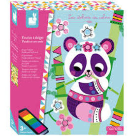 Janod Hachette - Finger Inkpad Panda & Friends