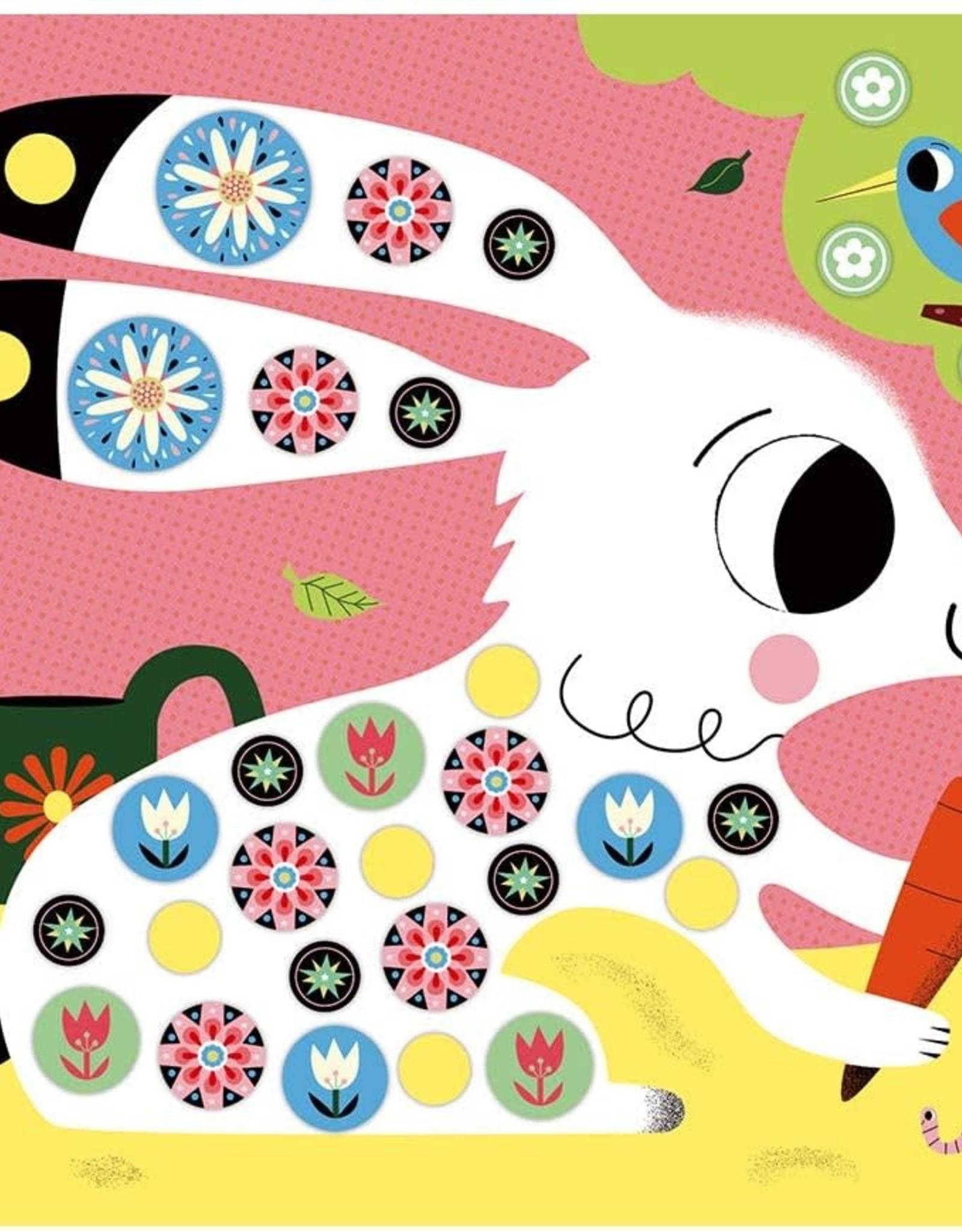 Janod Hachette - Foam Stickers-Friends