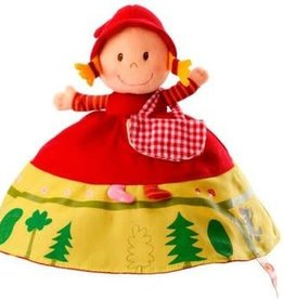 Reversible Red Riding Hood Puppet