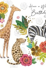 """Incognito Cards SUBLIME-Have a Wild Birthday!-(6""""X6"""")"""