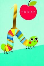 "Incognito Cards RAINBOW MAGIC-1 Today-Caterpillar(6""X6"")"