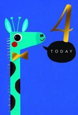 """Incognito Cards RAINBOW MAGIC-4 Today-Giraffe(6""""X6"""")"""