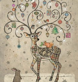 """Incognito Cards CHRISTMAS-Deer-Blank(5""""X7"""")"""