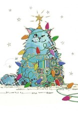 "Incognito Cards CHRISTMAS-Kooks-Cat-Blank(5""X7"")"