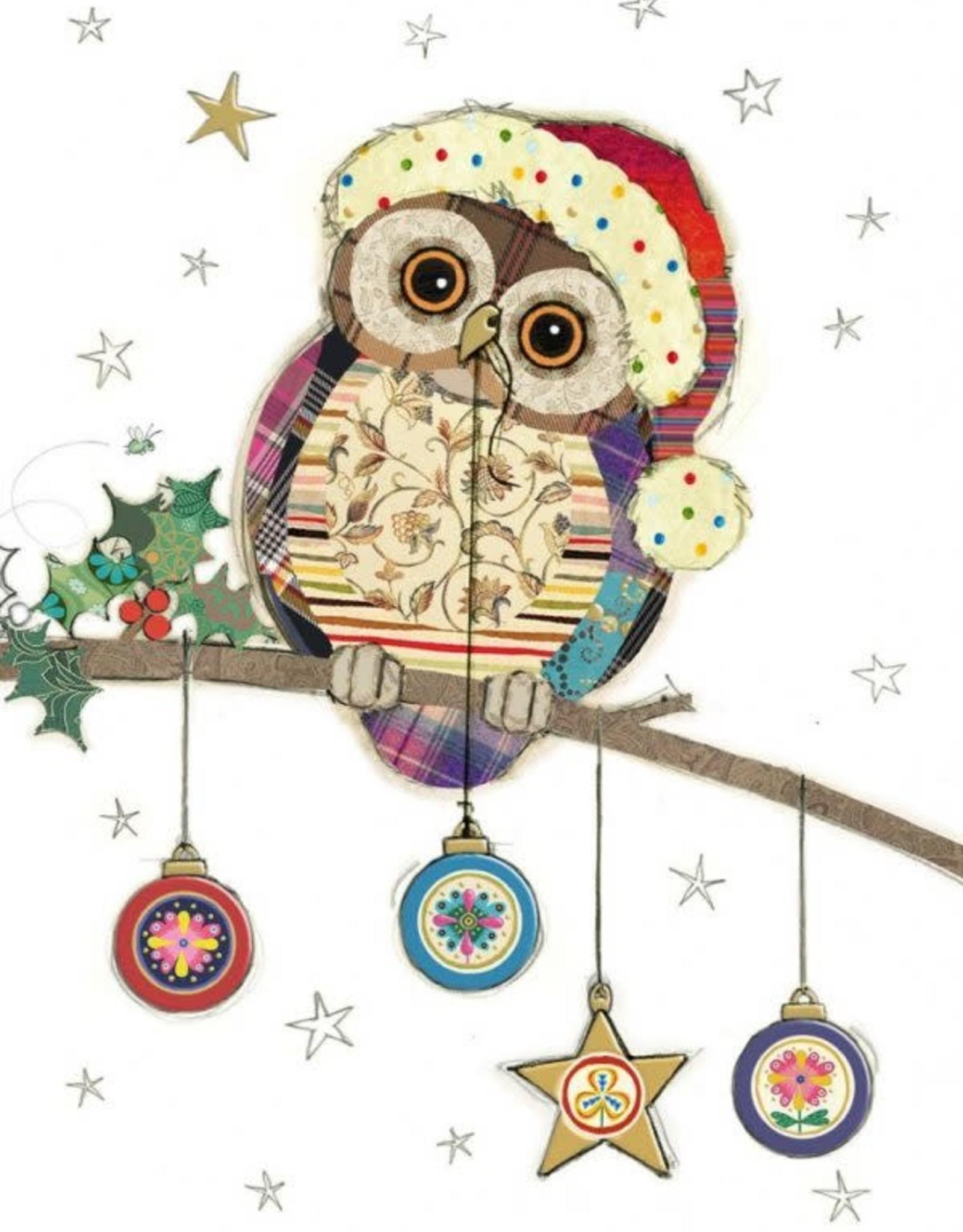 "Incognito Cards CHRISTMAS-Kooks-Owl-Blank(5""X7"")"