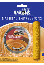 Crazy Aaron's Thinking Putty Natural Impressions - Desert Dune