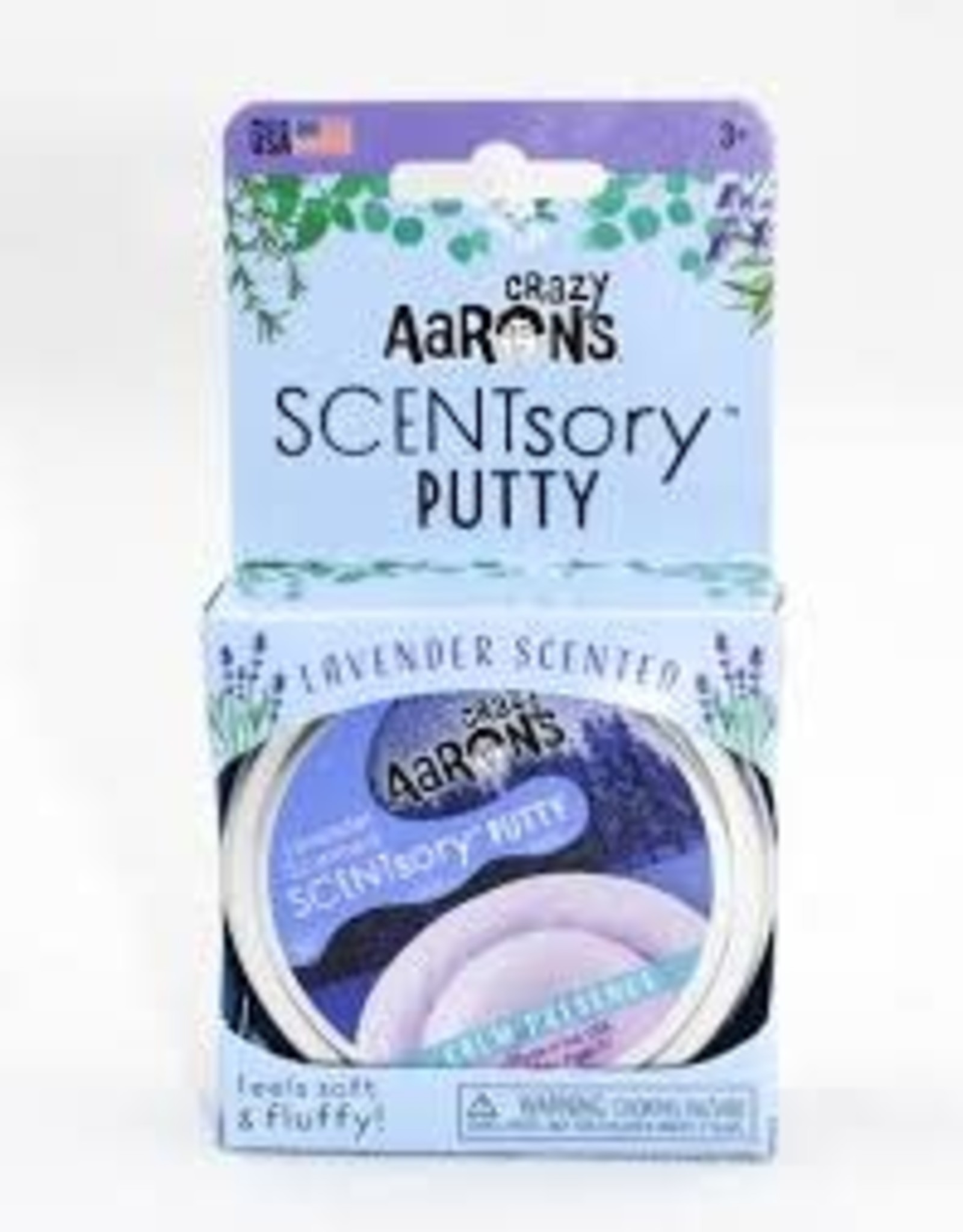 Crazy Aaron's Thinking Putty SCENTsory Aromatherapy-Calm Presence