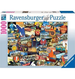 Ravensburger Road Trip USA (1000 PC)