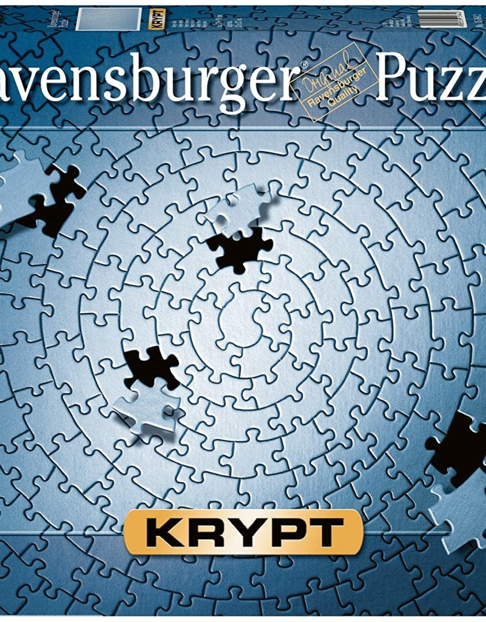 Ravensburger Krypt - Silver 1000 Pc