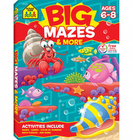 School Zone Big Mazes & More