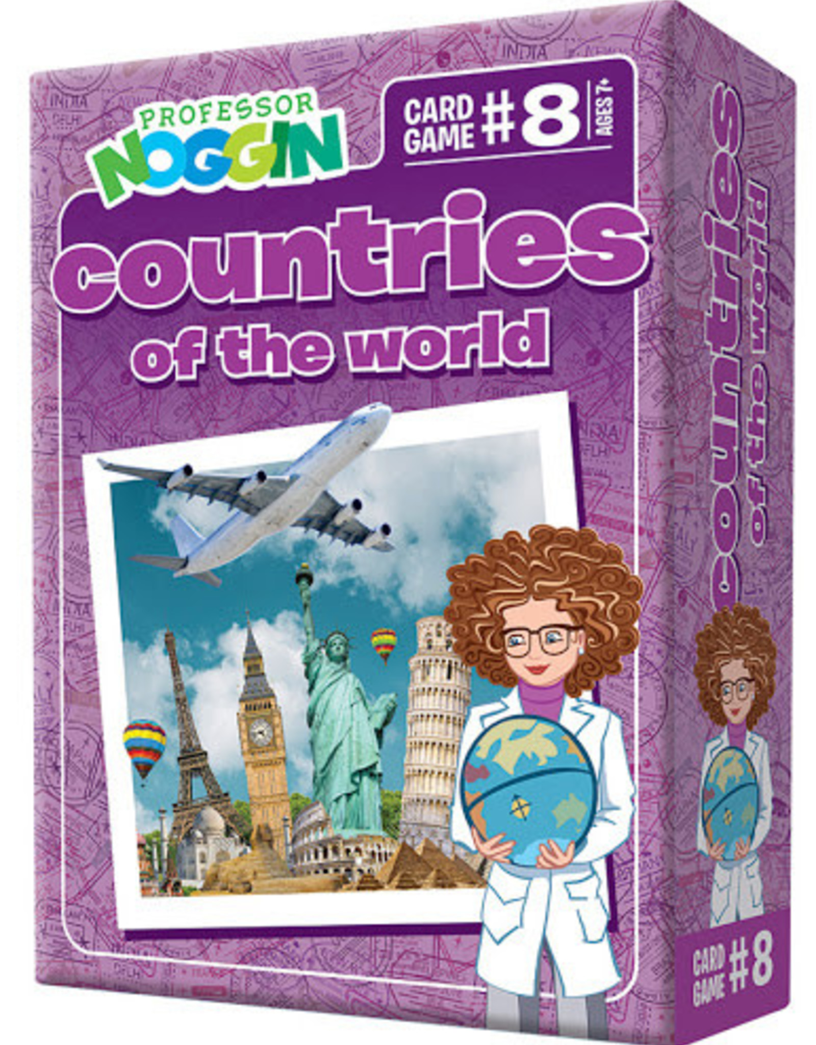 Professor Noggin Prof. Noggin Countries of the World