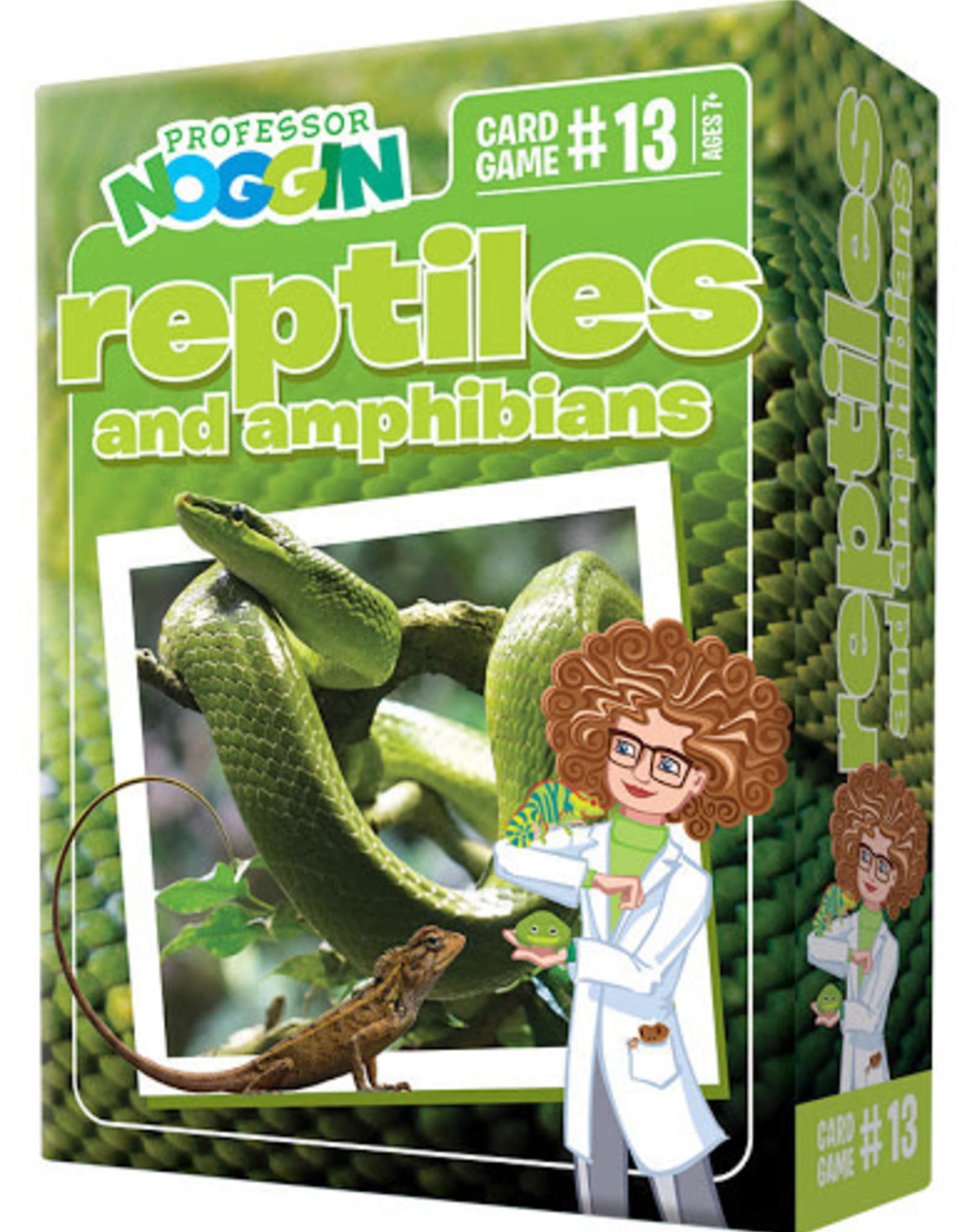 Professor Noggin Prof. Noggin Reptiles and Amphibians
