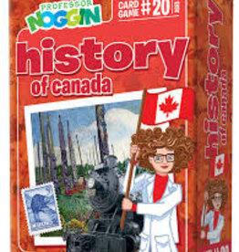 Professor Noggin Prof. Noggin History of Canada