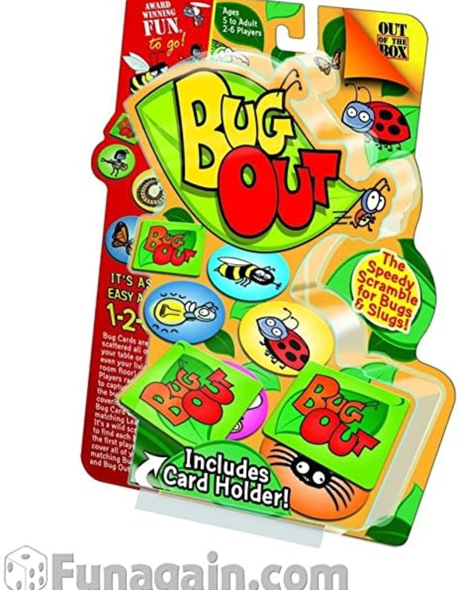 Outset Bug Out Card Game