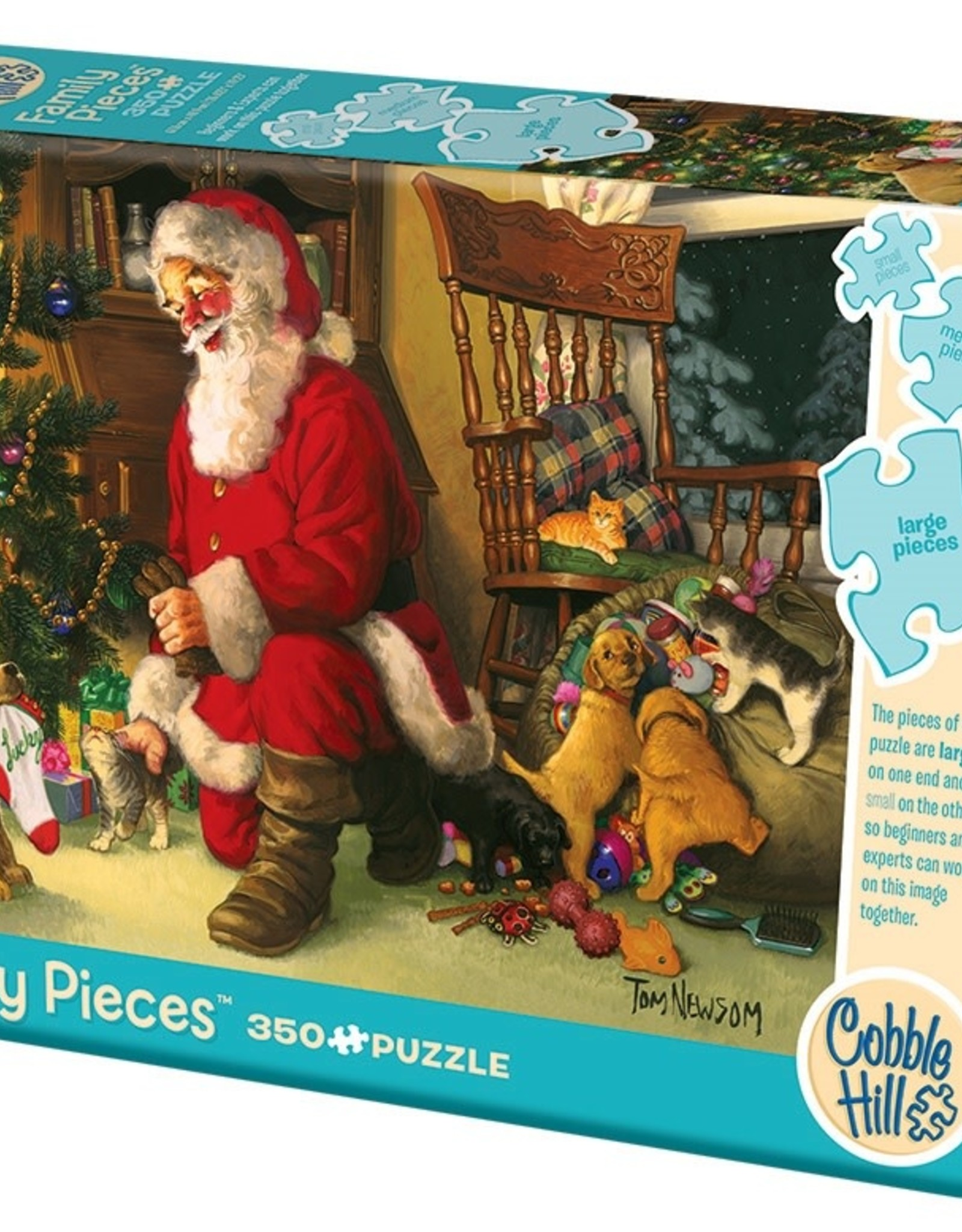 Cobble Hill Santa's Lucky Stocking (Family)