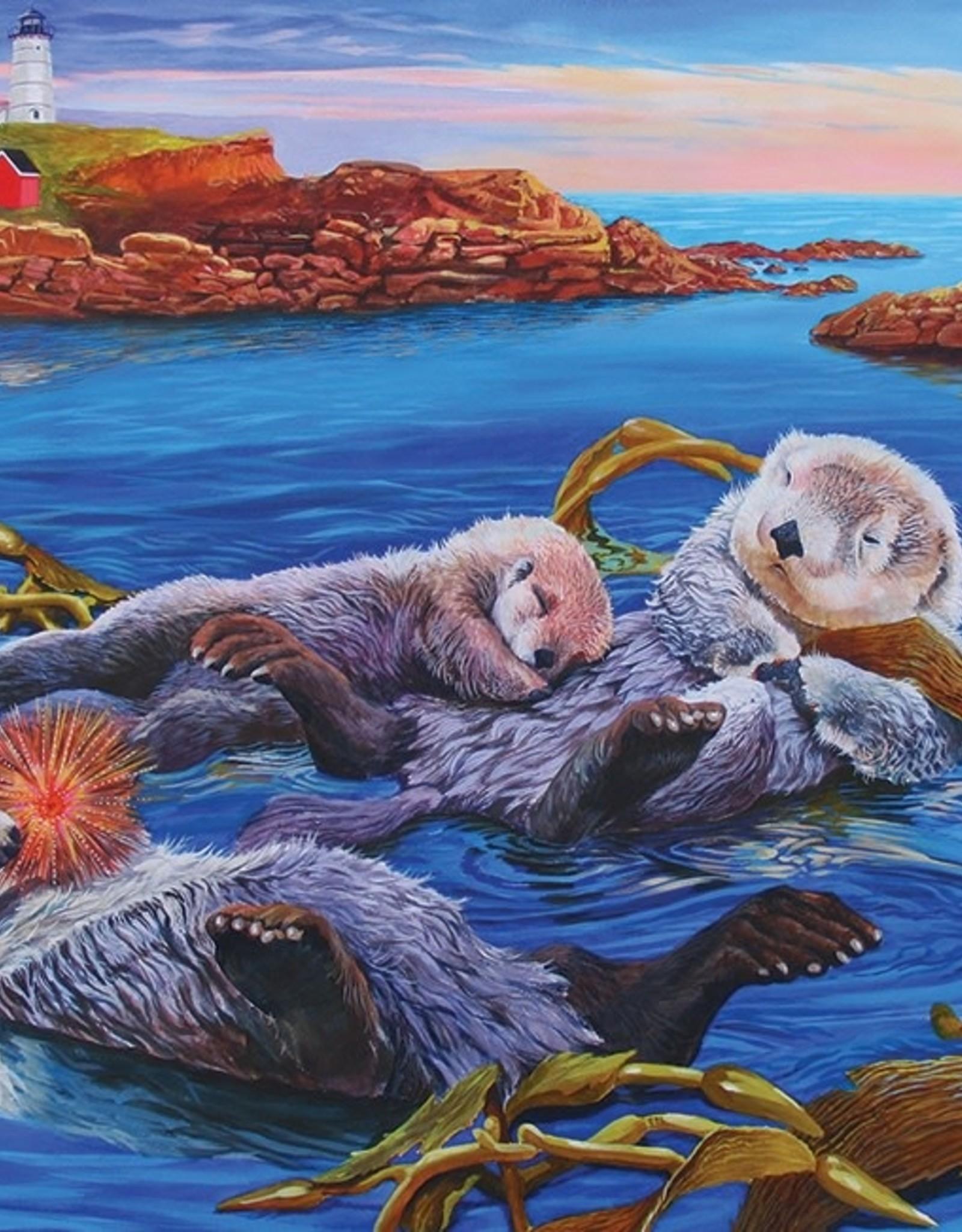 Cobble Hill Sea Otter Family (Family)