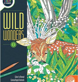 MindWare Colour By Number Wild Wonders: Book 2