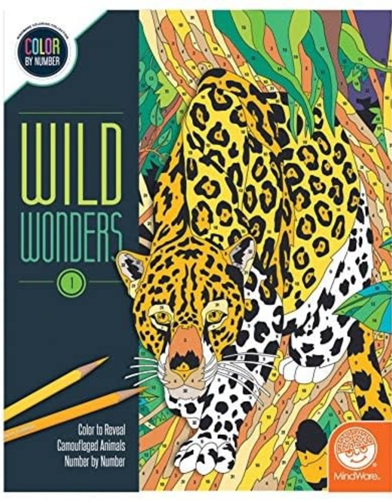 MindWare Colour By Number Wild Wonders: Book 1