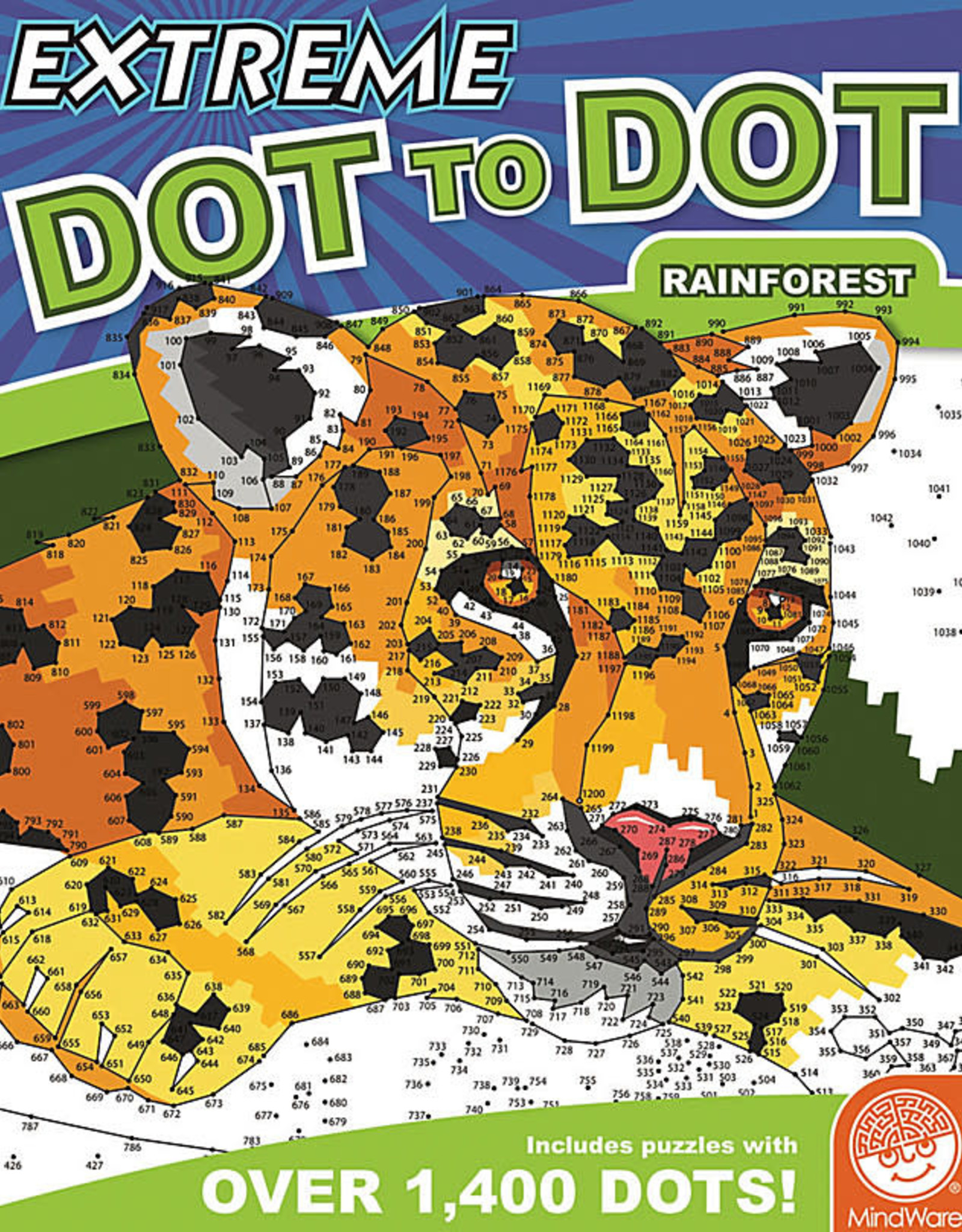 MindWare Extreme Dot-to-Dot: Rainforest