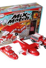 Popular Playthings Mix or Match Vehicles Fire and Rescue