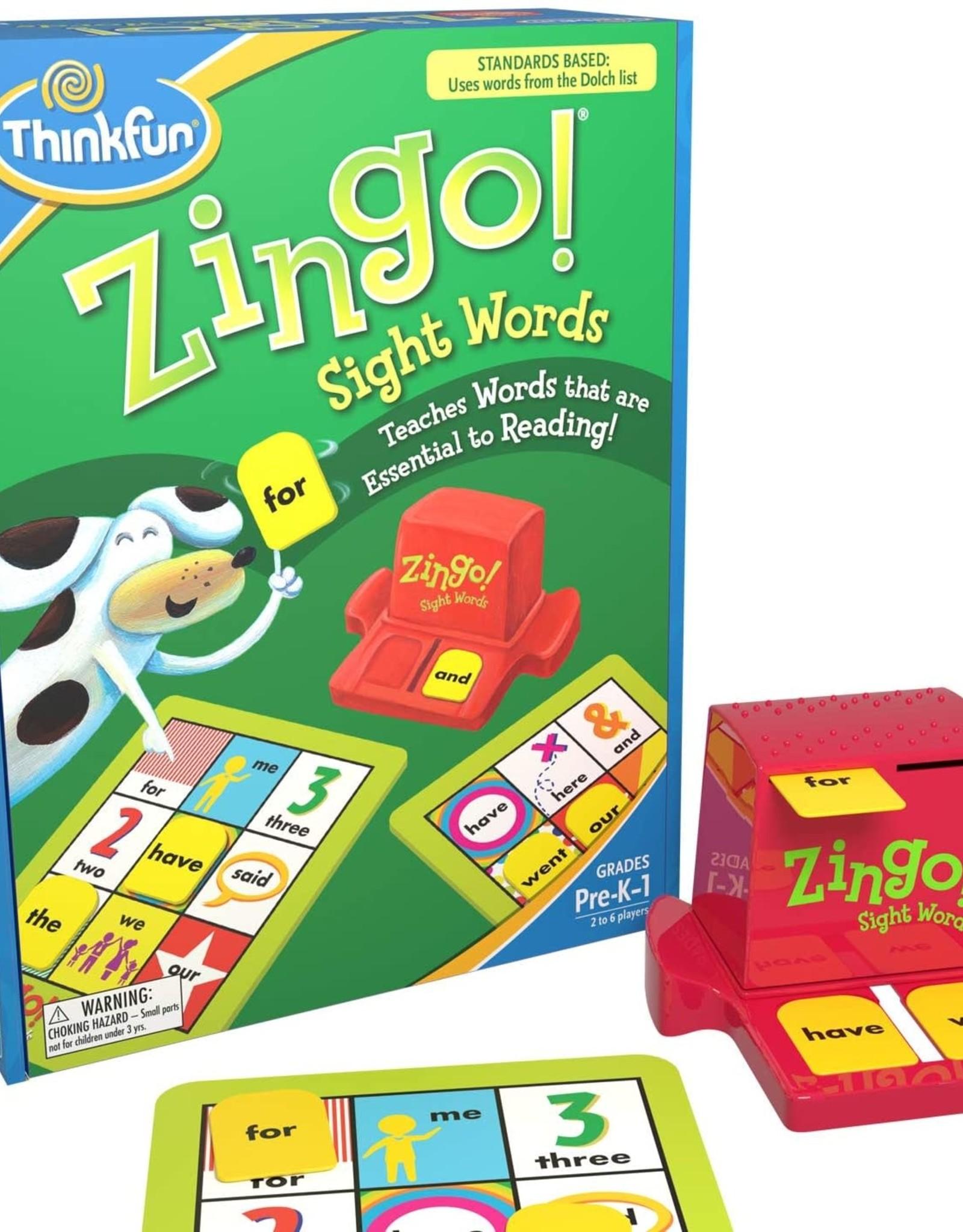 Think Fun Zingo Sight Words