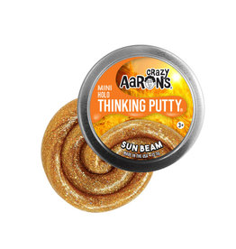 Crazy Aaron's Thinking Putty Small Tin - Sun Beam Super Ilusion