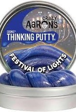 """Crazy Aaron's Thinking Putty 4"""" Festival of Lights Cosmic"""