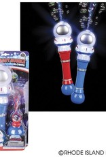 Astronaut Light Up Bubble Blower 12.5""