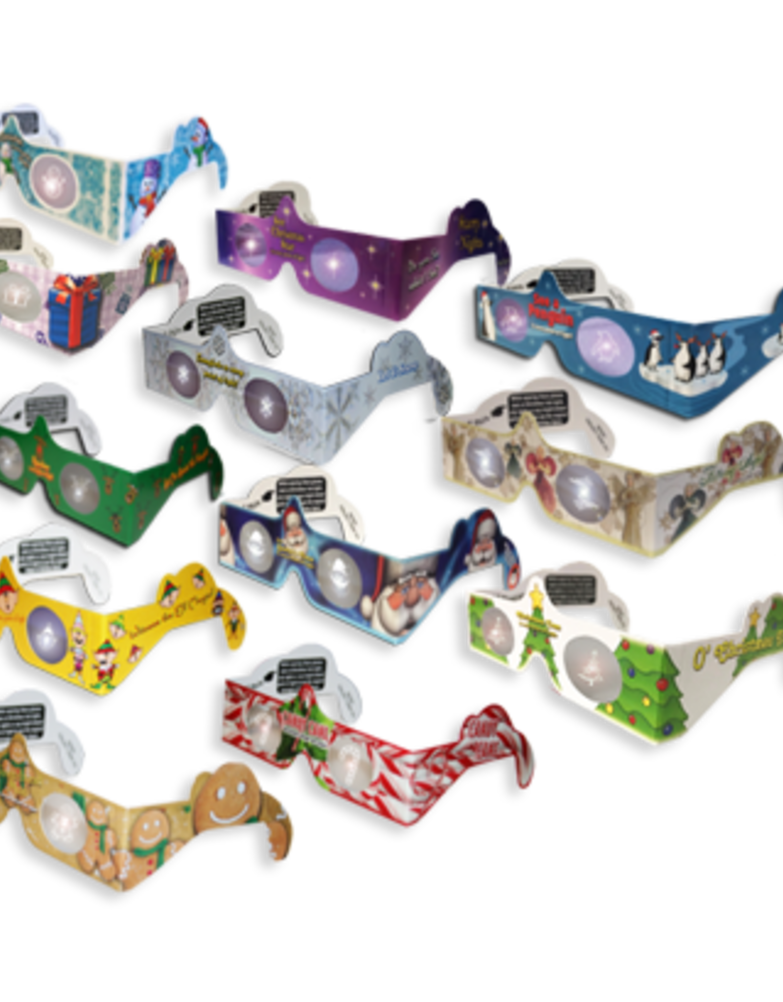 Holiday Specs 3D (w/Counter Display)