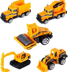 Playwell 4-pack Construction Trucks
