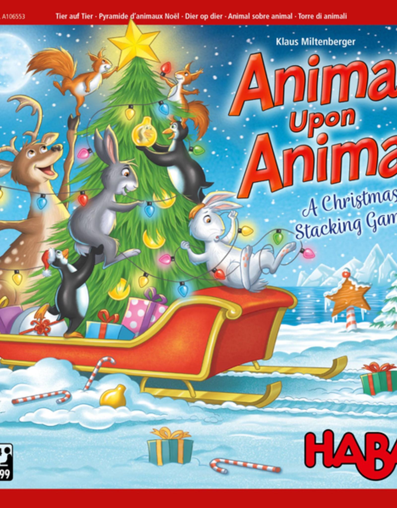 Haba Animal Upon Animal Winter