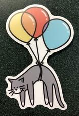 Stickers NW Balloon Cat Sticker