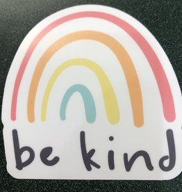 Stickers NW Be Kind Rainbow