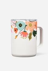 Corkcicle Mug Gloss Cream Lively Floral