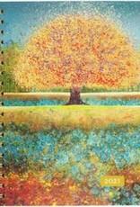 Peter Pauper Press 2021 Tree of Dreams Desk Calendar
