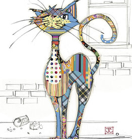 """Incognito Card Kooks - Cola Cat Blank 5"""" x 7"""""""